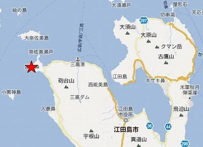 江田島地図2分割北(がんね)