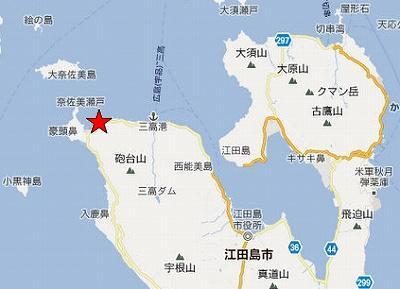 江田島地図2分割北(美能東方海岸)