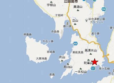 江田島地図2分割南(追ノ谷)