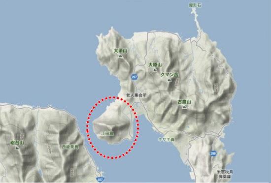 1)江田島町北部・津久茂海岸