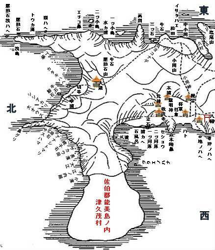 江田島古地図(芸藩通史A)