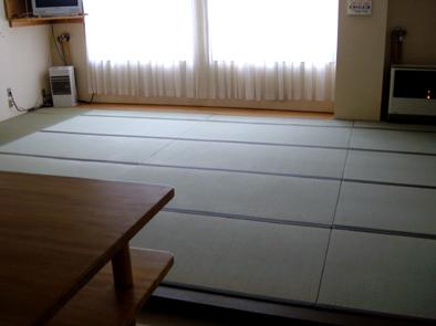 食堂の畳アフター