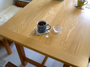 ウチのテーブル