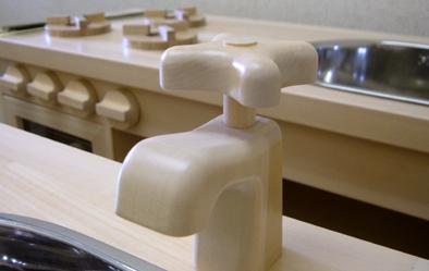 お遊び用のキッチン(蛇口)