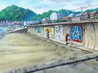 浜辺2アニメ