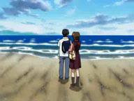 浜辺アニメ