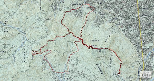 藻岩一筆書き地図600×316