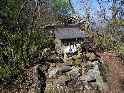 浅間神社の祠