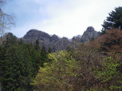 下山途中からの山急山