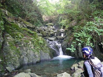 最初の小滝