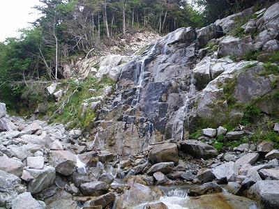左岸10m滝