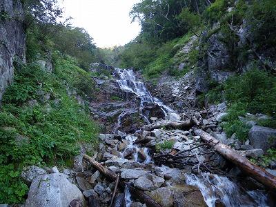 三段20m滝