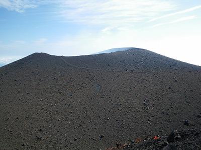 前掛山からの浅間山