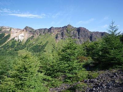 仙人岳と鋸岳