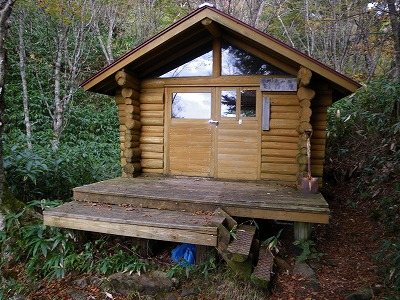 野熊の池避難小屋