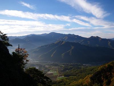 天狗山からの金峰方向