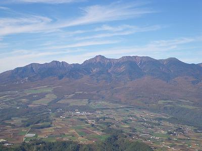 男山からの八ヶ岳
