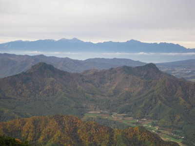 天狗山と男山