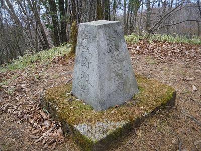白髪岩の原三角測点