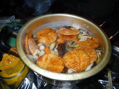 せんべい鍋