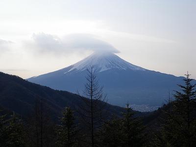 清八山からの富士2010年