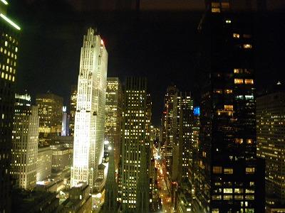 部屋から見るロックフェラーセンター
