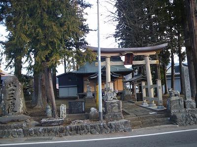 登山口の神社
