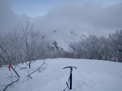阿能川岳頂上