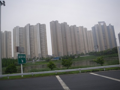 昆山のアパート
