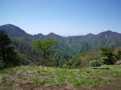袖平山からの丹沢主稜