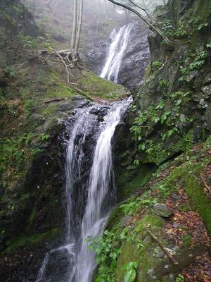 大滝上の二段