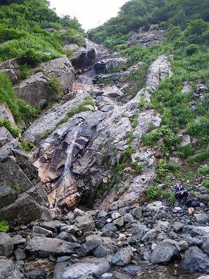 北沢の30m滝