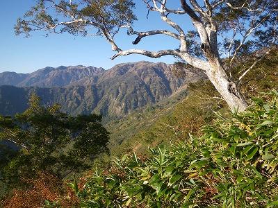 別山の稜線2