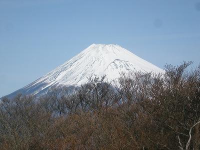 越前岳からの富士山2