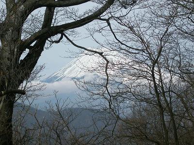 位牌岳からの富士山