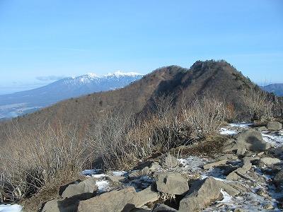 茅ヶ岳から金ヶ岳と八ヶ岳