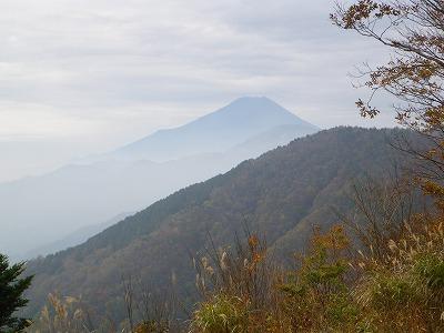 菜畑山からの富士山