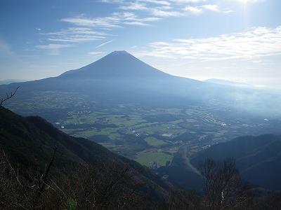 富士山展望台から