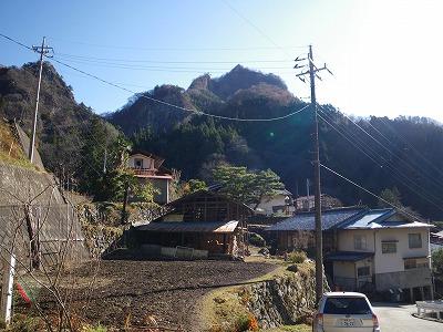 道場からの大屋山