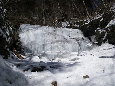 清兵衛沢隣の氷