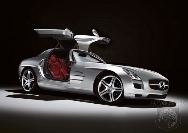 2011 Mercedes-Benz SLS AMG side view