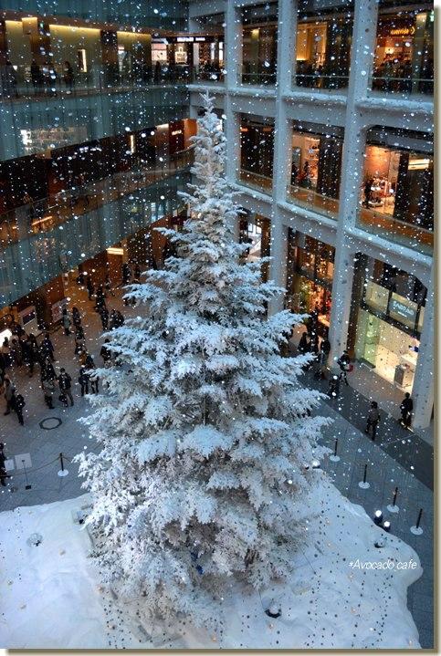 白いツリー