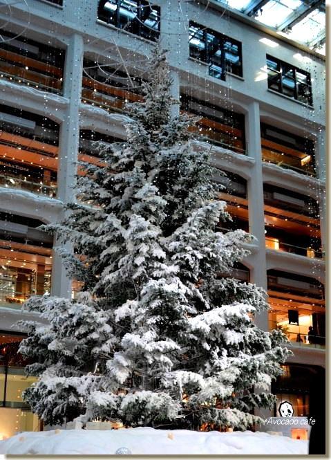 白いツリー2