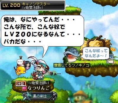 砲撃法師、LV200達成・・・、400.350