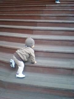 歩いてよ~