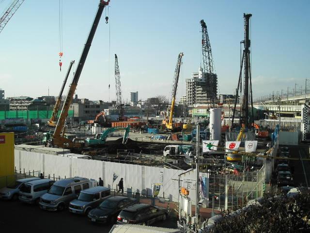 武蔵浦和第1街区再開発工事
