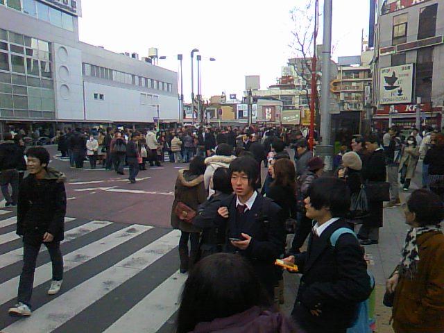 直後の西川口駅。。