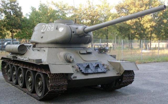 T34/85!