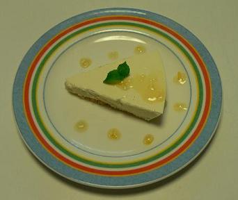 レアチーズケーキママレード風味