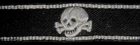 cuffband _Oberbyern_skull pattern